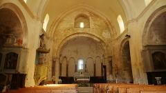 Eglise paroissiale Notre-Dame-de-Pitié - Deutsch:   Notre-Dame de Pitié de Saignon Schiff