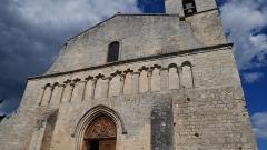 Eglise paroissiale Notre-Dame-de-Pitié - Deutsch:   Notre-Dame de Pitié de Saignon Westfassade