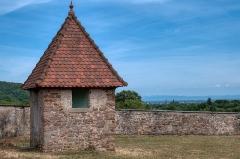 Domaine de la Leonardsau - English:   Domaine de la Léonardsau is a château in the commune of Obernai, in the department of Bas-Rhin, Alsace, France. It is a listed historical monument since 1986.