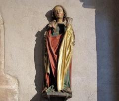 Eglise catholique de l'Invention de la Sainte-Croix - Français:   Alsace, Haut-Rhin, Église Sainte-Croix (XIIIe-XVe-XVIe) de Kaysersberg (PA00085477, IA68000563)  Statue de Marie-Madeleine (XVIe):        This object is classé Monument Historique in the base Palissy, database of the French furniture patrimony of the French ministry of culture,under the referencesPM68000163 and IM68006839. беларуская (тарашкевіца)| brezhoneg| català| Deutsch| English| español| suomi| français| magyar| italiano| македонски| Plattdüütsch| português| українська| +/−
