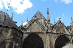 Eglise Saint-Laurent -  Paris, France. Complete indexed photo collection at WorldHistoryPics.com.