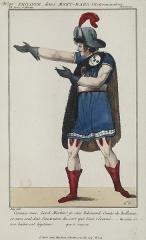 Théâtre de la Porte-Saint-Martin - French actor, librettist and printmaker