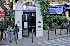 Moulin de la Galette -  Paris 2016 10 12 Walk to Montmartre (75)