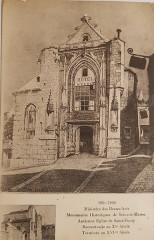 Eglise Saint-Furcy  : partie subsistante - Français:   Lagny-sur-Marne - Eglise Saint Fursy