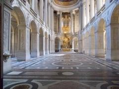 Domaine national de Versailles - Français:   Chapelle royale du château de Versailles.