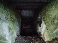 Tour de Cesson - Français:   Saint-Brieuc - Pointe de Cesson - Wn Po 05 (Bunker type R 502 - intérieur)