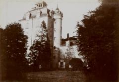Château de Kéravéon - Français:   Le château de Keravéon [Keravion] en 1898 (photographie publiée dans \
