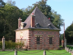 Château d'Avrilly -  entrée château Avrilly (TREVOL,FR03)