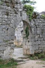 Ruines de l'ancien hôpital - Français:   Rocamadour - Hôpital de l\'Hospitalet
