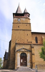 Eglise - Français:   Collégiale de l\'Assomption de Castelnau-Magnoac (Hautes-Pyrénées)