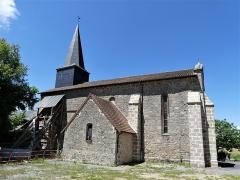 Eglise Saint-Priest - Français:   La façade sud de l\'église, Saint-Priest-la-Plaine, Creuse, France.