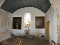 Eglise Saint-Priest - Français:   La chapelle sud de l\'église, Saint-Priest-la-Plaine, Creuse, France.