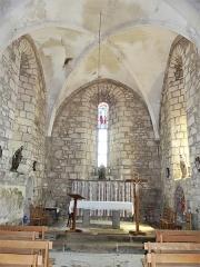 Eglise Saint-Priest - Français:   Le chœur de l\'église, Saint-Priest-la-Plaine, Creuse, France.