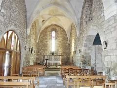 Eglise Saint-Priest - Français:   La nef de l\'église, Saint-Priest-la-Plaine, Creuse, France.