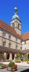 Ancienne abbaye Saint-Colomban - Français:   Le monastère de Luxeuil-les-Bains.