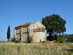 Ancienne chapelle Saint-Pierre - Français:   Chapelle Saint-Pierre de Vers-Pont-du-Gard