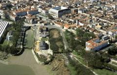 Formes de radoub de l'arsenal - Français:   Vue Nord-Est des radoubs de Rochefort (Charente-Maritime)