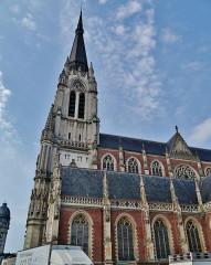 Eglise Saint-Christophe - Deutsch:   Kirche St. Christophe, Tourcoing, Département Nord, Region Oberfrankreich (ehemals Nord-Pas-de-Calais), Frankreich
