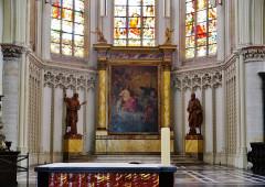Eglise Saint-Christophe - Deutsch:   Chor der Kirche St. Christophe, Tourcoing, Département Nord, Region Oberfrankreich (ehemals Nord-Pas-de-Calais), Frankreich
