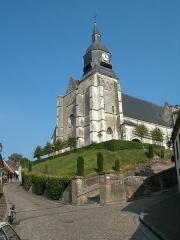 Eglise Saint-Martin - English:   Church at Auxi-le-Chateau.