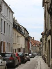 Abbaye et église Saint-Wilmer - English:   Boulogne-sur-Mer, the Rue de l\'Oratoire