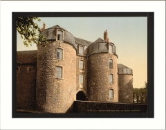 Château d'Aumont -  The old castle Boulogne France