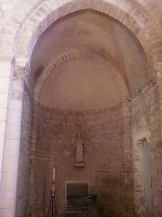 Eglise Saint-Philibert - Français:   absidiole romane du XIIème