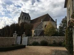 Eglise Saint-Germain-de-Loisé - Français:   Eglise St-Germain de Loisé à Mortagne au Perche_61400