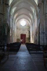 Eglise Saint-Florent - Français:   Intérieur de l\'église Saint-Florent-et-Saint-Honoré de Til-Châtel (21).