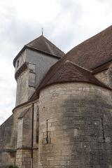 Eglise Saint-Valérien - Français:   Extérieur de l\'église Saint-Valérien à Chitry (89).