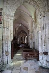 Eglise Saint-Valérien - Français:   Intérieur de l\'église Saint-Valérien à Chitry (89).