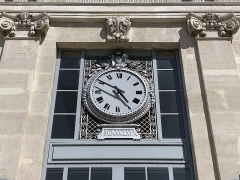 Gare - Français:   Gare de Valence-Ville, Valence, Drôme.