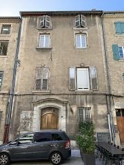 Hôtel de Pampelonne - Français:   Hôtel de Pampelonne, Valence, Drôme.