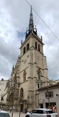 Eglise Notre-Dame-des-Marais - Français:   Collégiale Notre-Dame-des-Marais de Villefranche-sur-Saône.