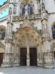 Eglise Notre-Dame-des-Marais - Français:   Depuis la grand\'rue.