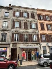 Immeuble - Français:   Immeuble, 634-638 rue Nationale, Villefranche-sur-Saône.