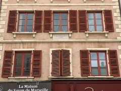 Maison - Français:   Maison, 758-762 rue Nationale, Villefranche-sur-Saône.