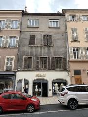 Immeuble - Français:   Immeuble, 510-514 rue Nationale, Villefranche-sur-Saône.