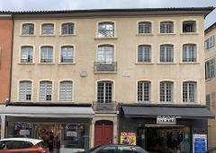 Immeuble - Français:   Maison Roland, Villefranche-sur-Saône.