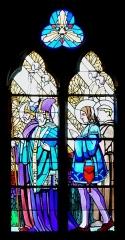 Eglise Saint-Hippolyte - English:   Stained-glass window in the Saint Hippolytus church in Thonon-les-Bains, Haute-Savoie, France