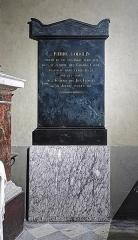 Ancien prieuré de la Daurade - English:   Tomb of Pierre Goudouli, Basilica of Notre-Dame de la Daurade in Toulouse