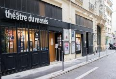 Immeuble - Français:   Façade du Théâtre du Marais en août 2020.