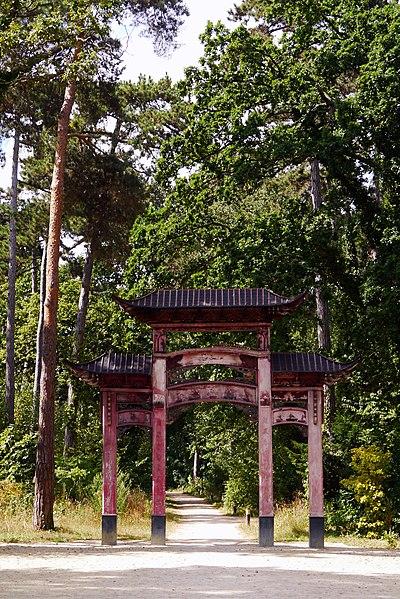 Jardin d\'Agronomie Tropicale, situé dans le bois de ...