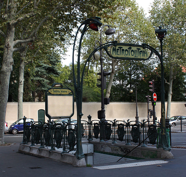 M 233 Tropolitain Station Chardon Lagache 224 Paris 16e