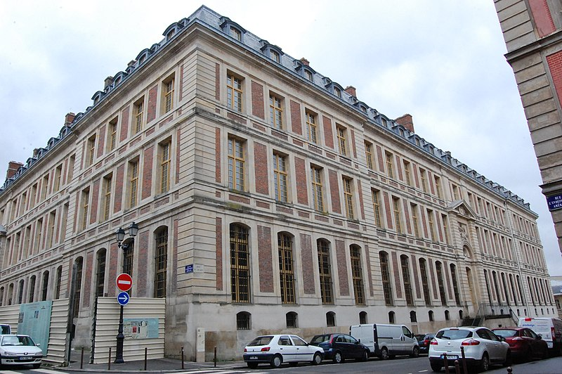 Domaine national : ancien grand commun (hôpital militaire Dominique Larrey)  à Versailles - PA00087676 - Monumentum