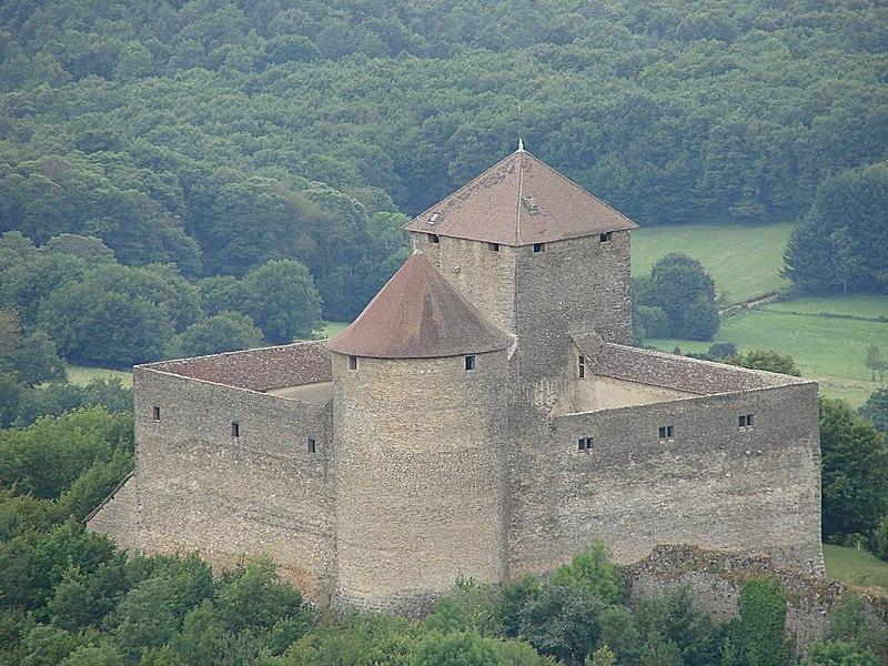 Photo du Monument Historique Château des Allymes situé à Ambérieu-en-Bugey