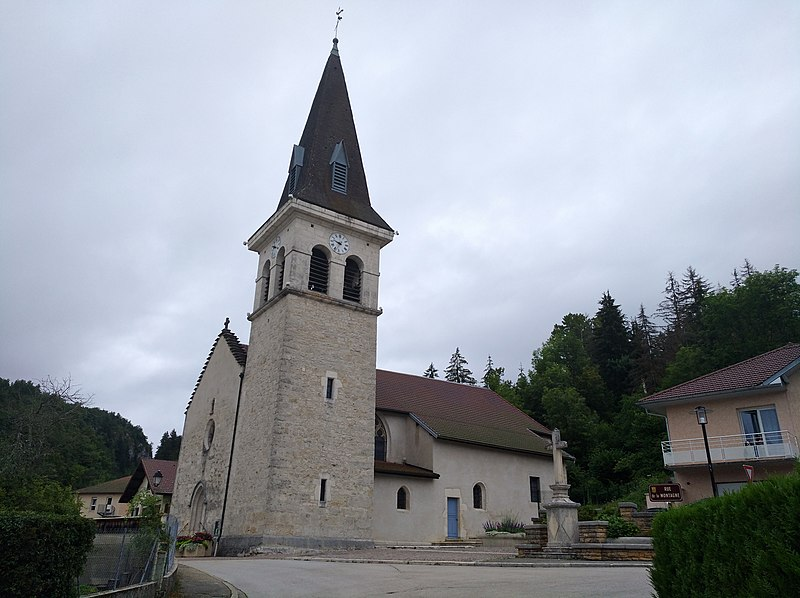 Photo du Monument Historique Eglise Saint-Laurent situé à Arbent