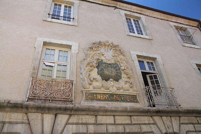 Photo du Monument Historique Hôtel de ville situé à Belley