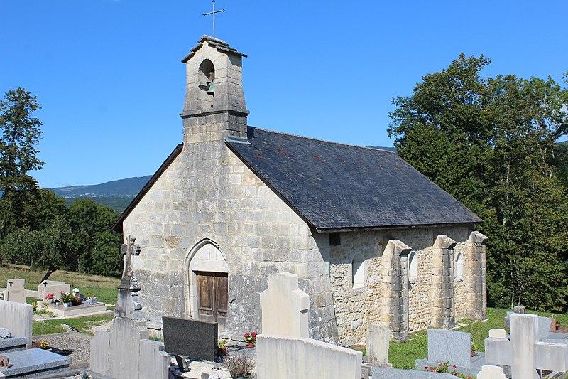 Photo du Monument Historique Eglise de Luthézieu situé à Belmont-Luthézieu