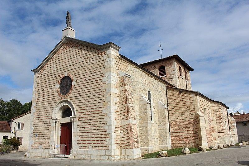 Photo du Monument Historique Eglise Saint-Marcel situé à Bouligneux